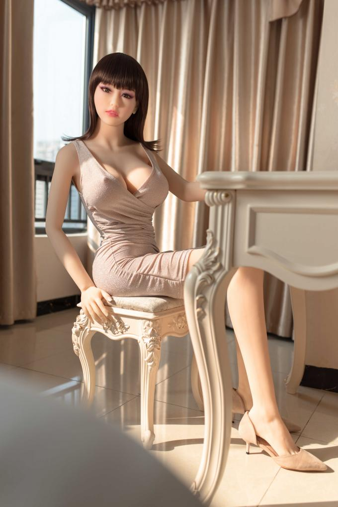 Real sized sex doll silicone sex doll with heat 165cm sexy love doll adult sex product for men