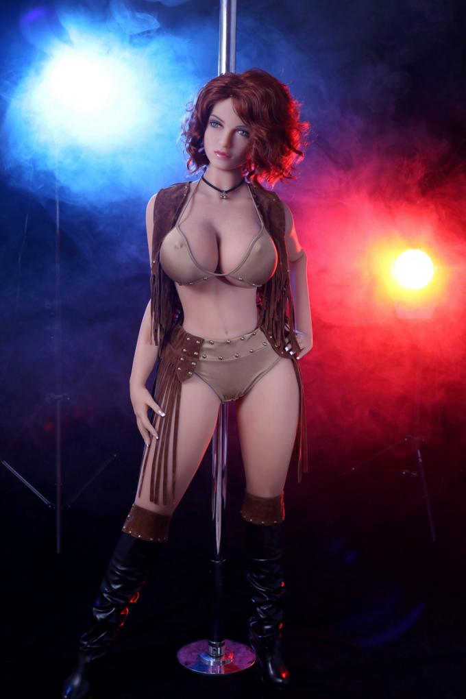 K Cup Massive Boobs & Large Hips Realistic Sex Dolls 163cm(5'3 ft) European girl adult sex toy