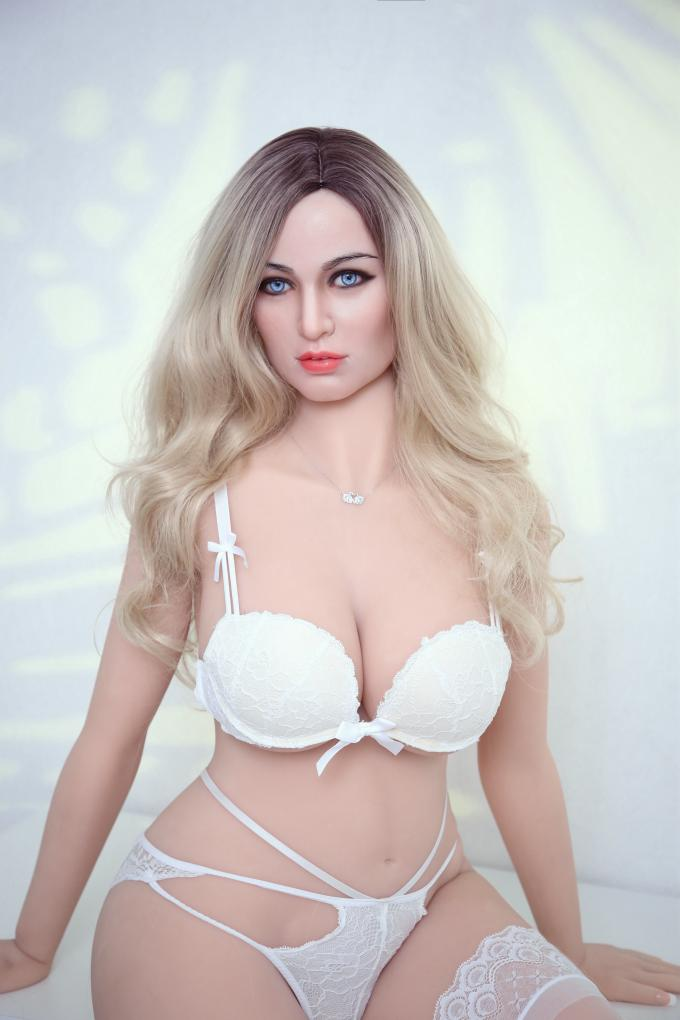 BBW Silicone Doll Wide Hips Realistic Sex Dolls 161cm Life Sized Thick Milf Doll European Girls