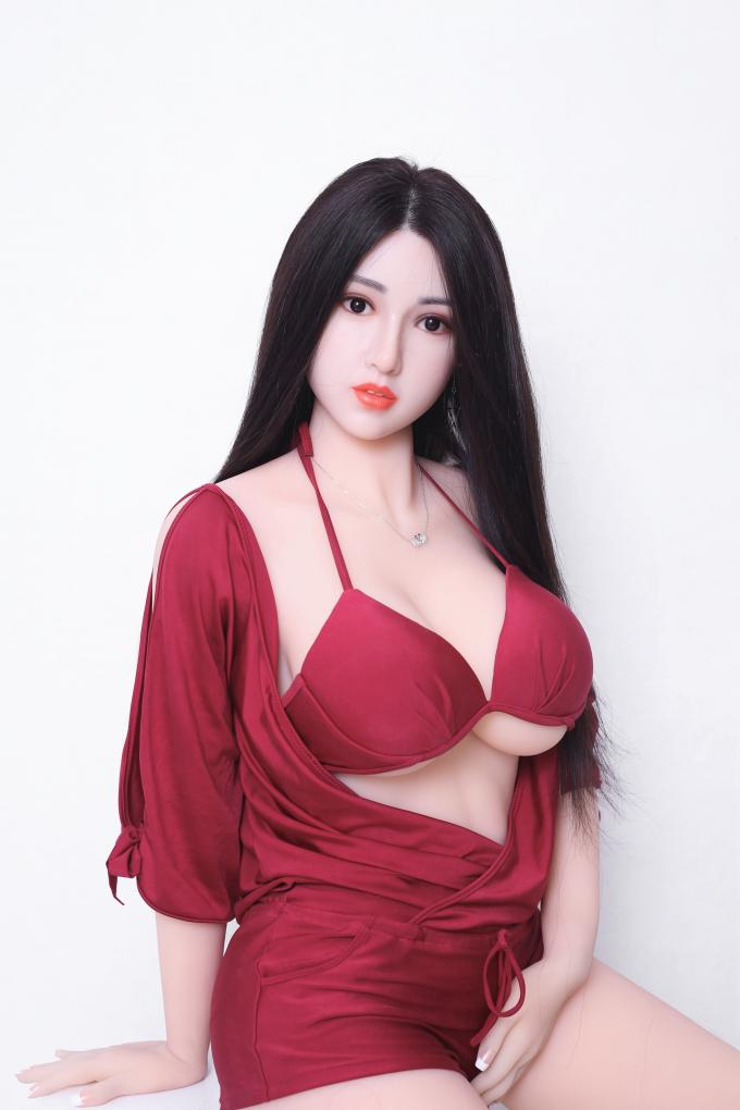 Realistic Silicone Sex Doll with Implanted Hair OEM factory 165cm Full size Female love doll real sex dolls