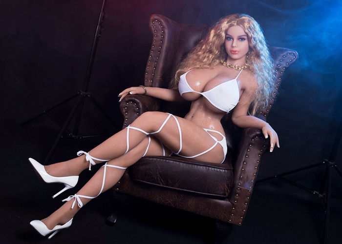 Femme artificielle moulée en TPE AV Star Doll 155cm Muscular BBW Sex Dolls Big Boobs Thick Ass Full Size Busty Love Doll