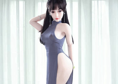 Asian Tiny Breasts Adult Sex Dolls 160cm Athletic Life Size Realistic sex doll for wholesale