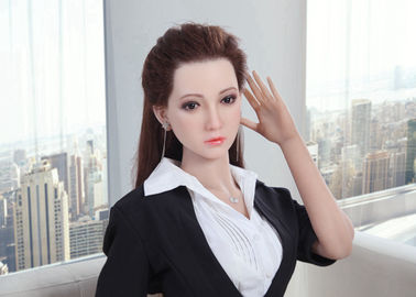 Silicone Sex Doll Asian Girl Adult Love Dolls 160cm Life Size Realistic doll with Implanted Hair
